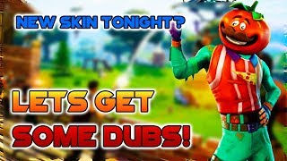 TOMATO SKIN DROPPING TONIGHT? 300+ WINS! INTENSE DUOS/SQUADS! || FORTNITE