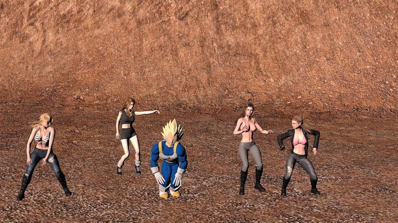 Saiyan Pride Shake Off : Vegeta's secret training...!!