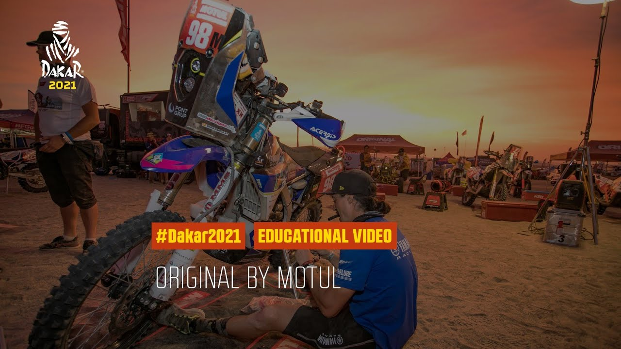 Dakar 2021 - Educational Video - Original by Motul