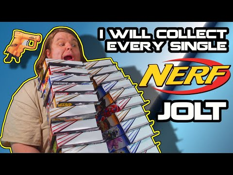 I WILL Collect EVERY Single NERF Jolt, Hasbro.