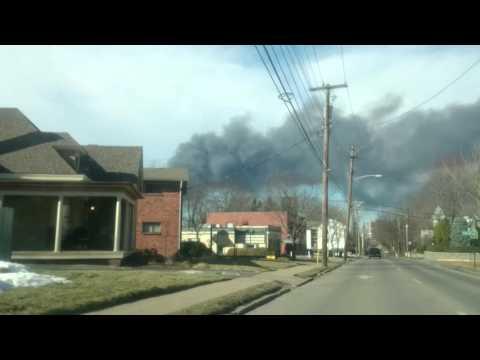 Lexington Stockyards Fire 1/30/16