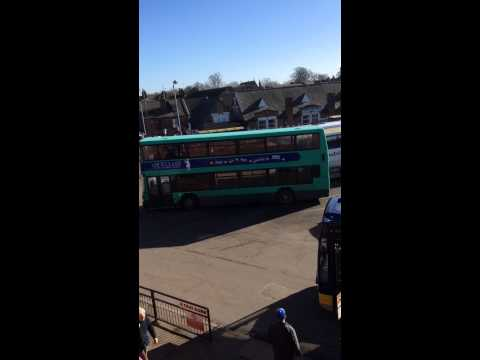 Buses at Kings Lynn bus station in Tuesday 17th February 2015. (Part2-2)