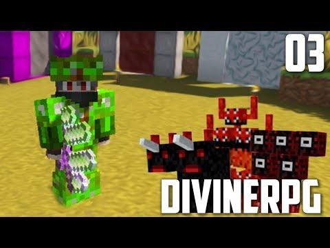 """""""ИЗИ"""" ХАЛИТ СЕТ   #03   Divine RPG 1.7.10"""