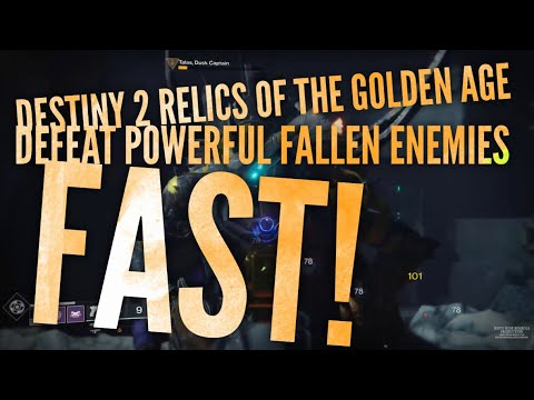 Relics Of The Golden Age Destiny 2