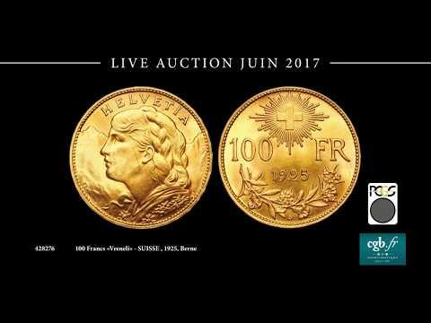 CGB Live Auction - Juin 2017