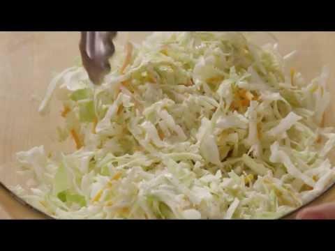 How to Make Restaurant Style Coleslaw | Salad Recipe | Allrecipes.com