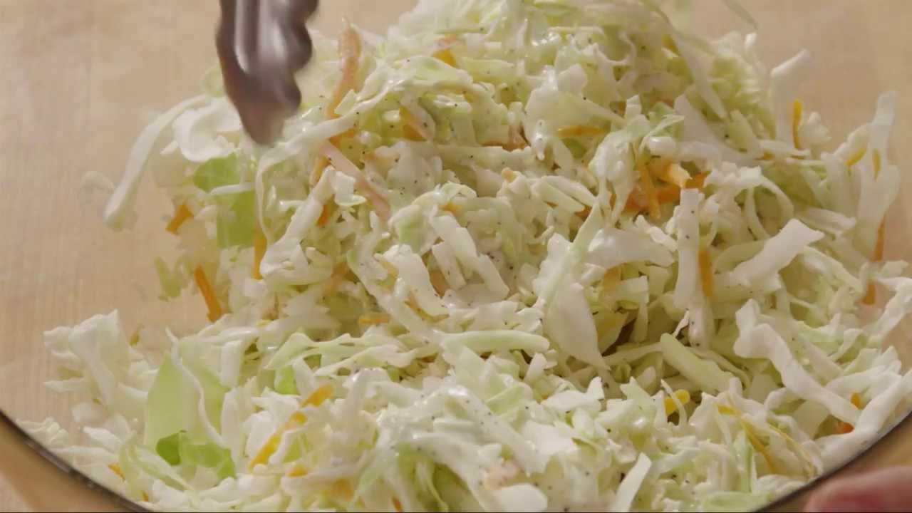 How to Make Restaurant Style Coleslaw   Salad Recipe   Allrecipes.com