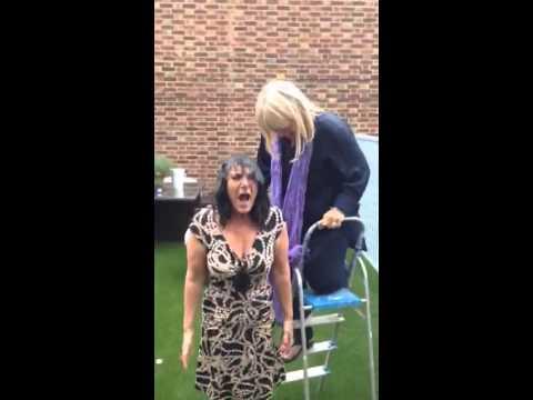 Lesley Joseph Birds Dorien Green ALS Ice bucket challenge