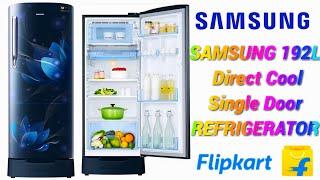 Samsung 192L Direct Cool Single Door 4 Star Refrigerator saffron blue - RR20T182XU8 HL
