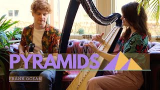 PYRAMIDS - Frank Ocean - Harp and guitar cover - Sam MacAdam and Heart of Gold