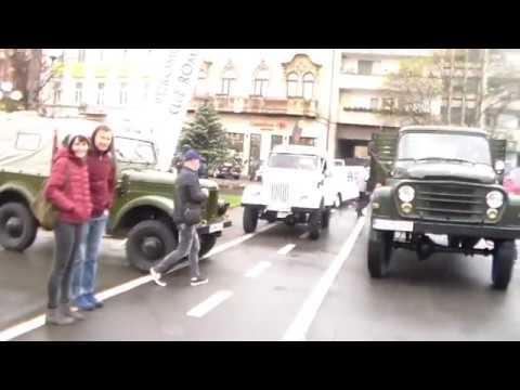 Parada vehiculelor istorice  la Arad   primăvara   2019