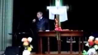 """Mensaje"""" Tiempo cumplido para la cosecha"""" Ptor Alberto Cotarruz."""
