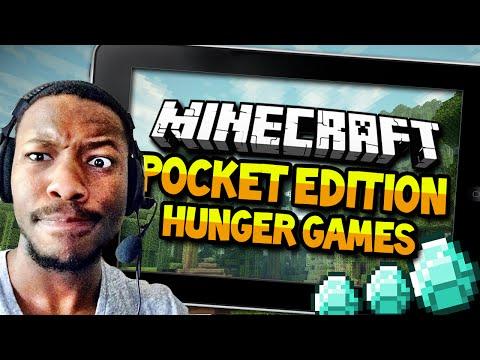 Minecraft Pocket Edition - Hunger Games - DIAMONDS!!