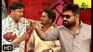 Chalaki Chanti&Sunami Sudhakar Performance | Jabardasth | 23rd  May 2019  | ETV Telugu