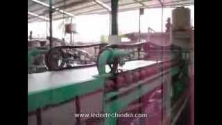 Ledertech India - Low Cost Bonded Leather Sheet Making Machine