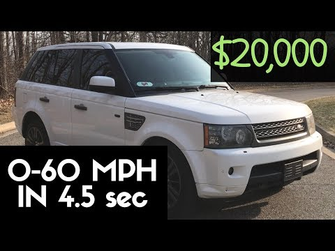 2011 Range Rover Sport Supercharged Review! BEST SUV For $20,000