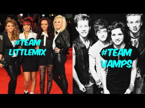 Little Mix Vs. The Vamps! (Battle Of The Boy Bands)