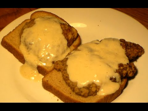 World's Best Chicken Fried Steak Recipe: Easy Country Fried Steak & White Gravy