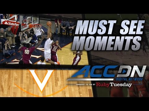 UVA's Darion Atkins Flies In For Putback Slam | ACC Must See Moment