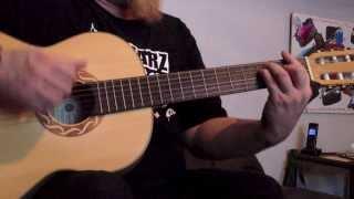 Pro Natura Gold Cherry Öko-Gitarre Walkaround and Test