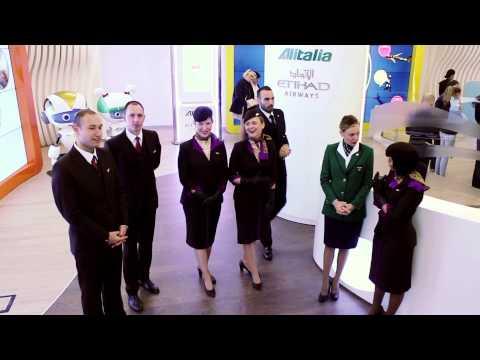 VR for Alitalia Etihad Pavilion · World Expo 2015 · Milan