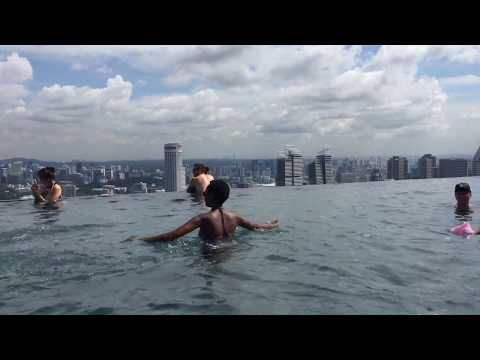 Marina bay sands/ singapore /Birthday travel Vlog - dream trips/ the worlds highest infinity pool