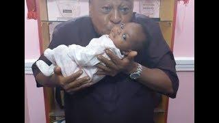 So Cute  Jide Kosoko Singing amp Dancing With His Grandchild Sola Kosoko baby