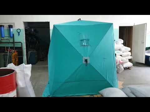 """Летняя палатка """"Куб"""" с возможностью использования под баню."""