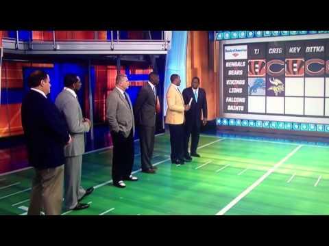 "Keyshawn Johnson casually drops ""shittt"" on ESPN"