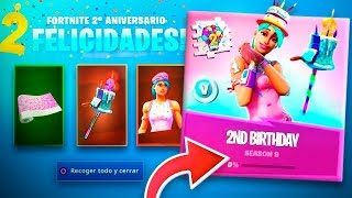 CLAIM THE NEW FREE REWARDS OF FORTNITE'S 2nd BIRTHDAY! (GET SURPRISE GIFTS)