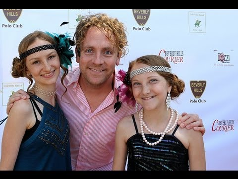 Drew Droege, actor from Stallions De Amor interview at The Celebrity Cup Polo Match