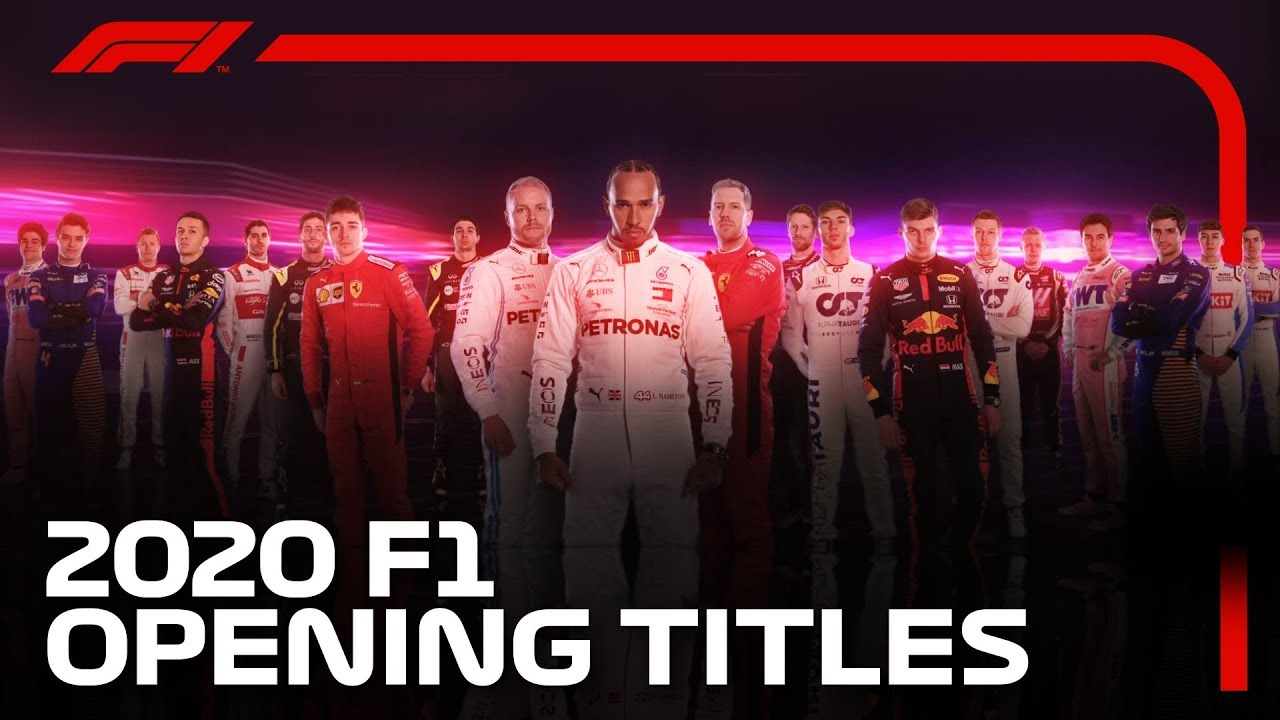 Download 2020 F1 Opening Titles!