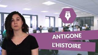 شرح مسرحية (Antigone) بالدارجة المغربية -éxplicatione de antigone en arabe -2015