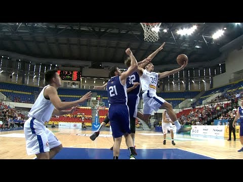 Matthew Wright with the ACROBATIC Layup Against Lithuania (VIDEO) Jones Cup 2017