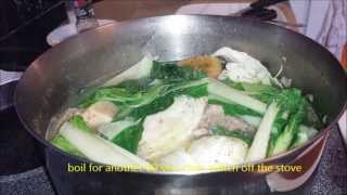 how-to-make bulalo (beef stew-philippine style)