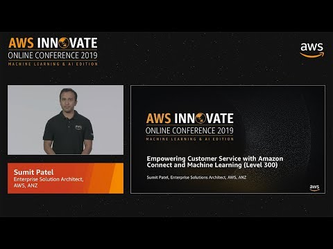 Empowering Customer Service with Amazon Connect and Machine Learning (Level 300)