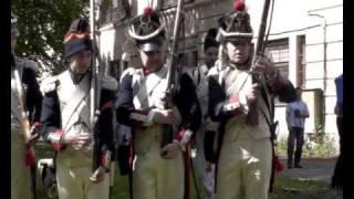 Реконструкция войны 1812 года/ War 1812 reenactors/  Latvija
