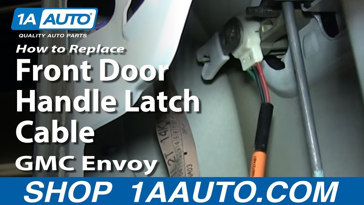How To Install Front Door Handle Latch Cable 2002 05 Ford