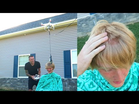 Thumbnail: NEVER DO THIS!! DRONE HAIRCUTS!!