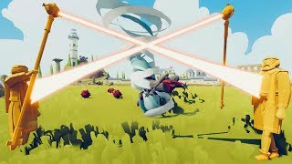 The Healer Has A Secret Ability - Is This Unit Unstoppable? - Totally Accurate Battle Simulator