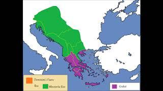 Territoret Ilire,harta e animuar|History of Illyrian territori…