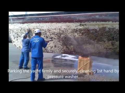 Aluminum Yacht  repair and renovation