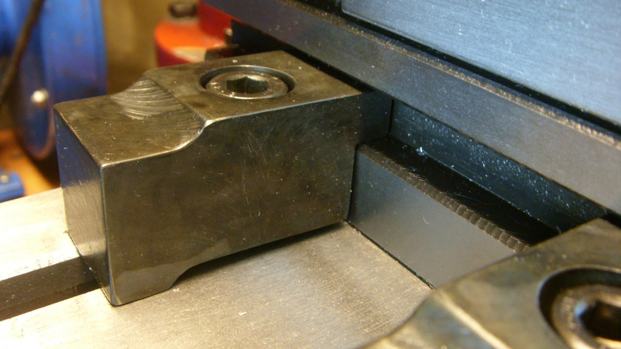 DIY Hold-down clamps for a machine vices