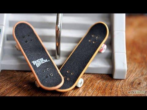 Tutorial #1 como manda ollie com skate de dedo