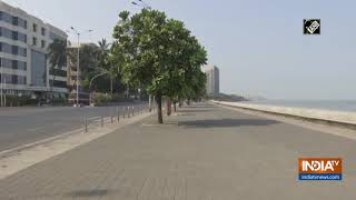 Mumbai weekend lockdown: Streets wear deserted look