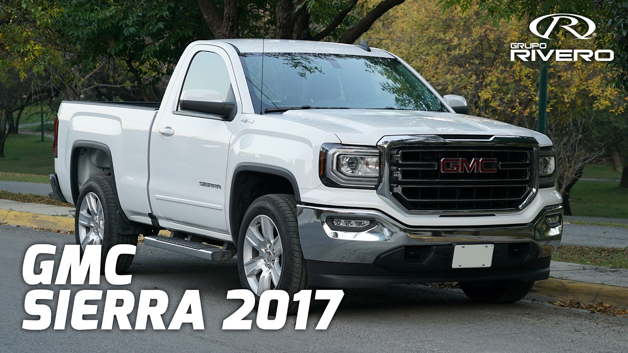 Sierra Regular 2018 >> GMC Sierra 2017 - Monterrey, México - Grupo Rivero - YouTube