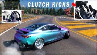 Using Clutch Kicks to Drift! (Because my Handbrake Died..lol) - CarX Drift Racing Online