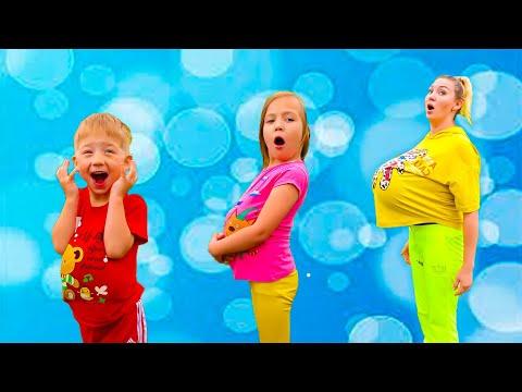 Алиса и мама примеры правильного поведения  для детей про вредные сладости и конфеты