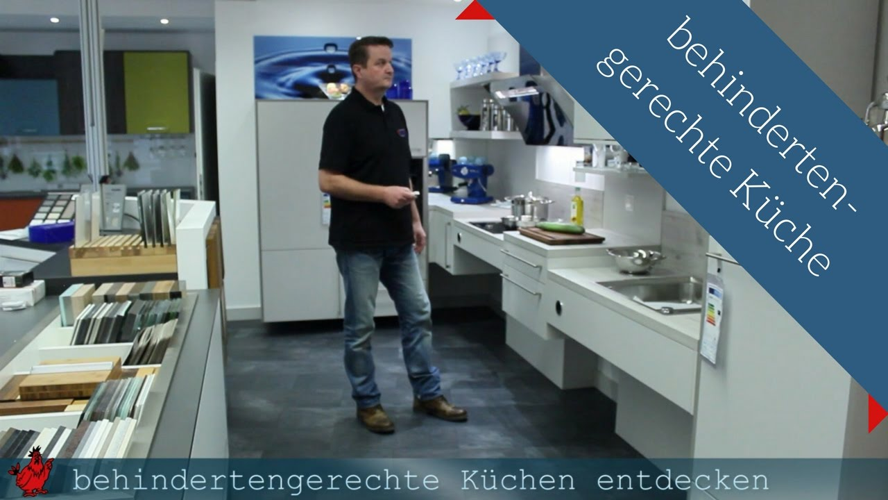 behindertengerechte k che hightech l sungen aus achern youtube. Black Bedroom Furniture Sets. Home Design Ideas
