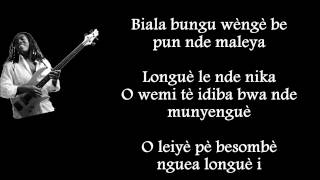 RICHARD BONA - Muntula Moto [Paroles - Lyrics]